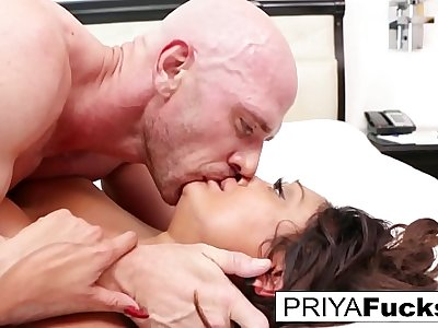 Johnny Sins and Priya after years of not shooting