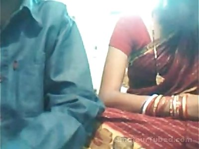 Indian youthfull duo on web cam