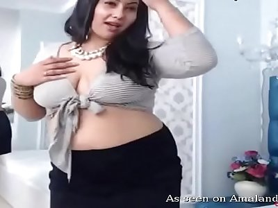 Amateur Indian obese