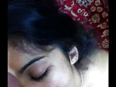 Desi Indian - NRI Girlfriend Face Fucked Blowjob and Pop-shots Compilation - Leaked Scandal